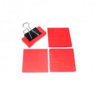 25 шт. запасных войлоков, красный (сталь)